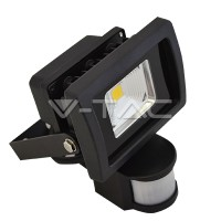 10watt LED Area Flood C/W PIR