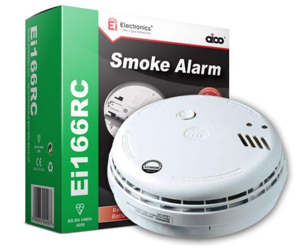 E.I. Mains Smoke Detector