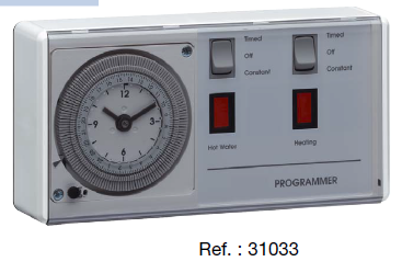 Flash 24h Dual Clock Programme