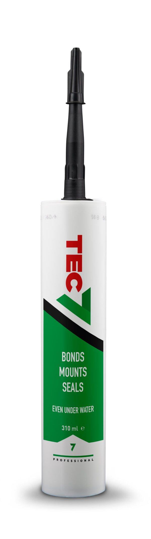 TEC 7 Tube Sealer Adhesive Black