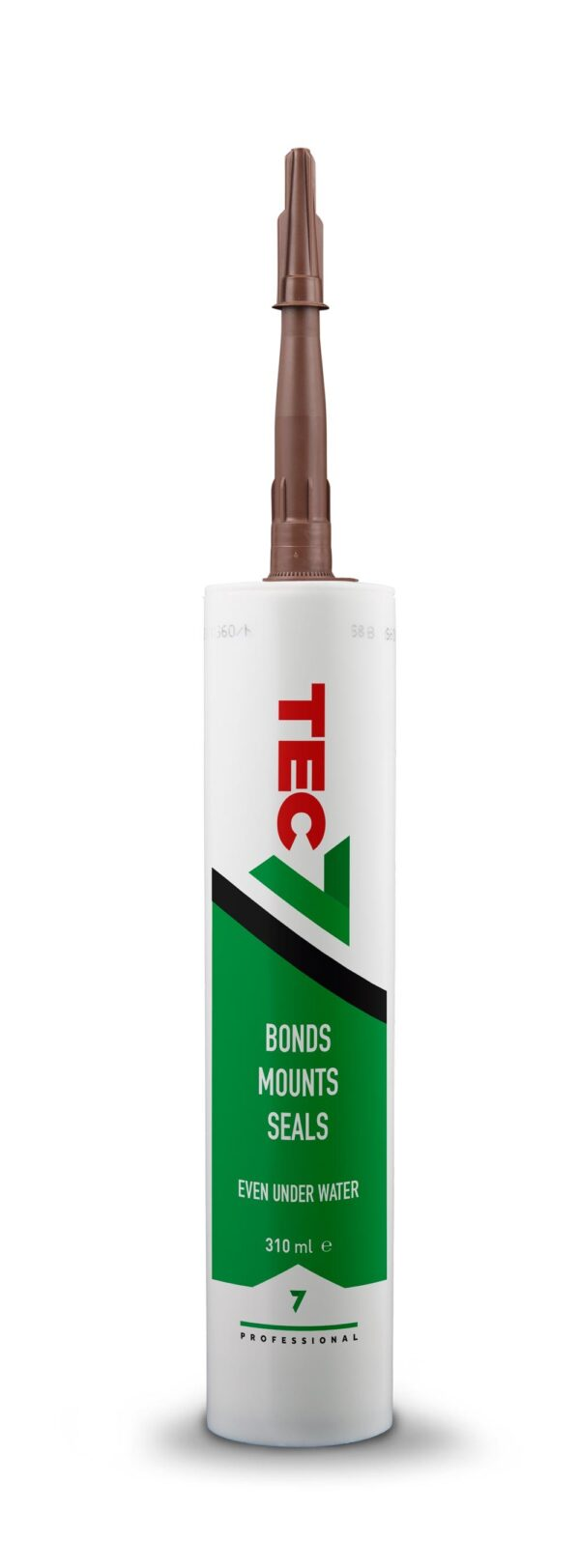 TEC 7 Tube Sealer Adhesive Brown