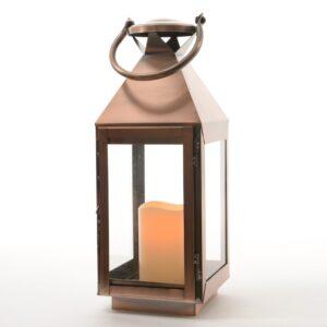 39cm Brass candle lanern