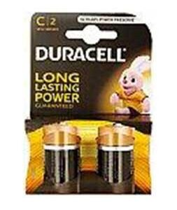 Duracell Batteries C Type