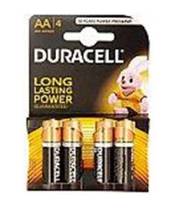 Duracell Batteries AA Type