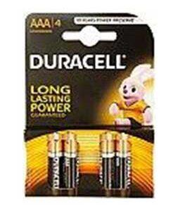Duracell Batteries AAA Type