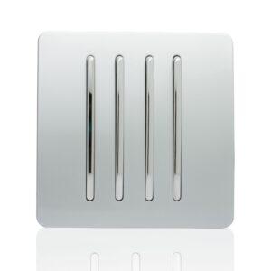Trendiswitch 4 G 2W Single plate rocker switch